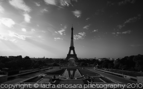 paris eiffel tower champs de mars trocadero