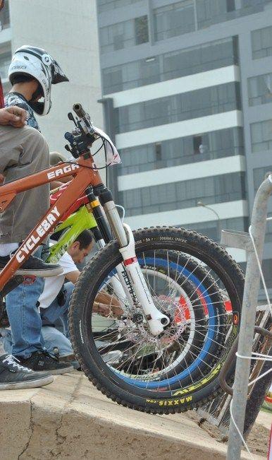 BMX start line
