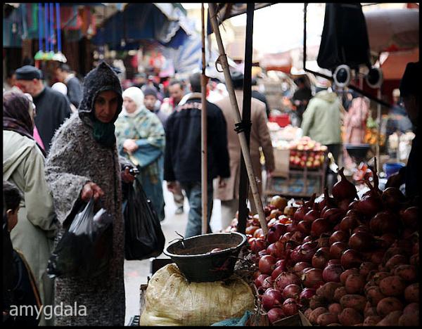 market, street, medina, morocco