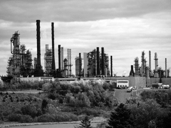 Industry in black and white
