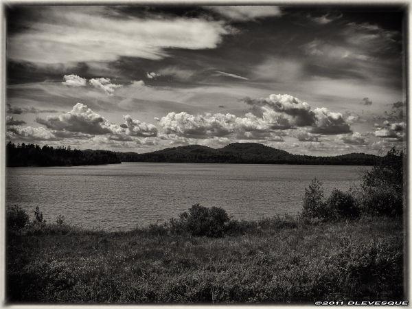 The Lake B/W