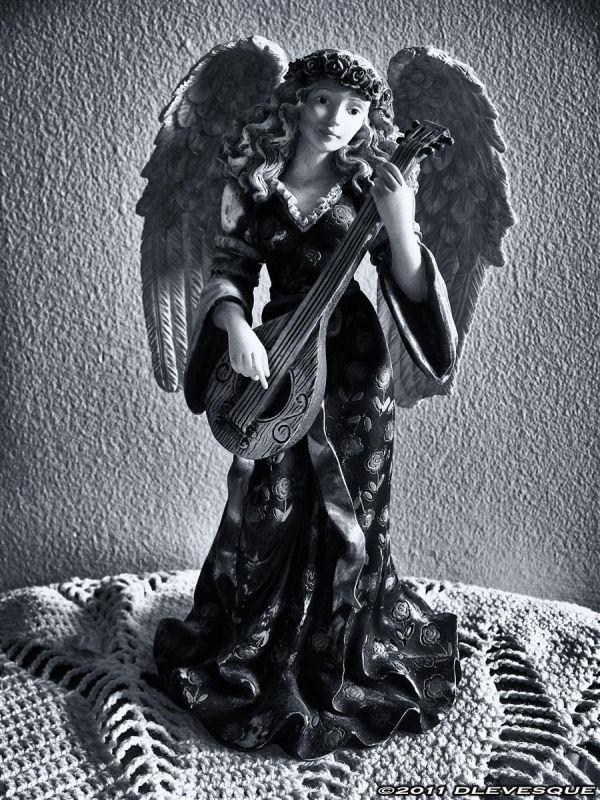 Study in bw...Angel