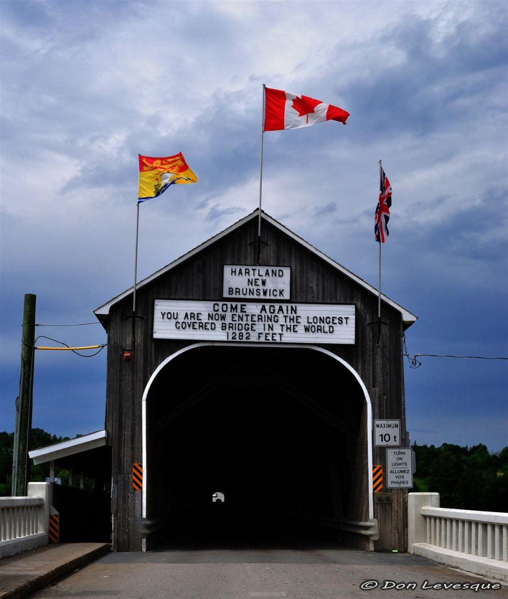 Hartland Covered Bridge 2 of 6