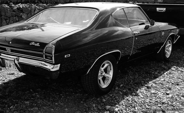Reflection on a Chevelle