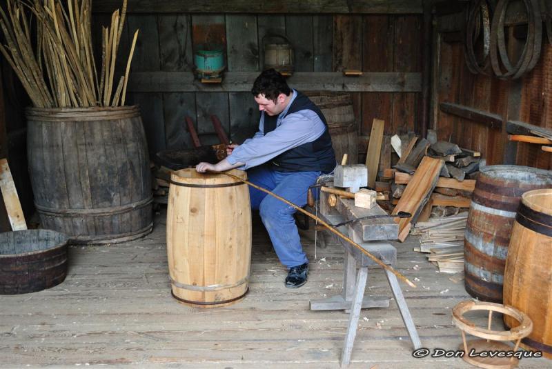 Barrel Maker or Cooper