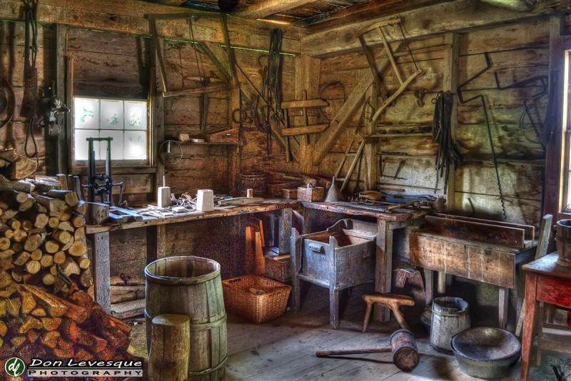 Repair shop - hdr