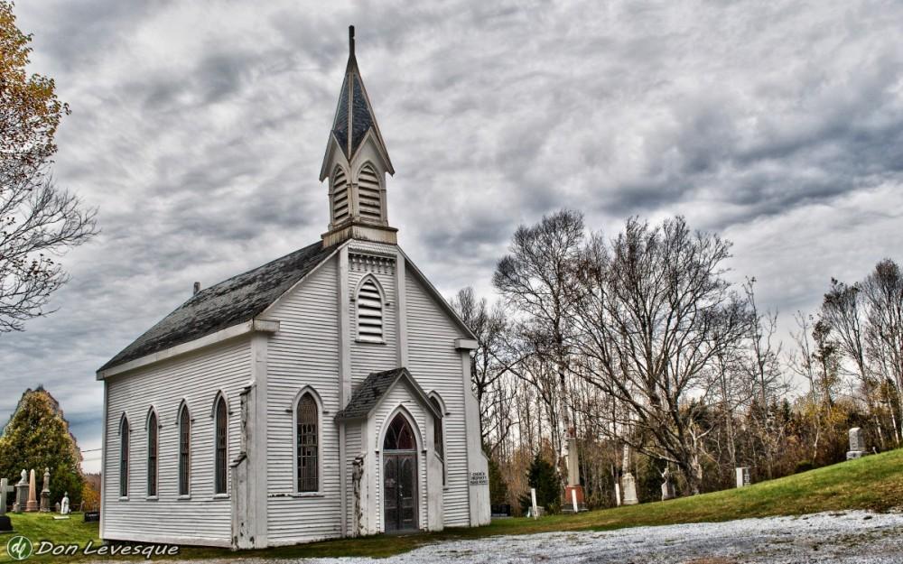 Small church - hdr