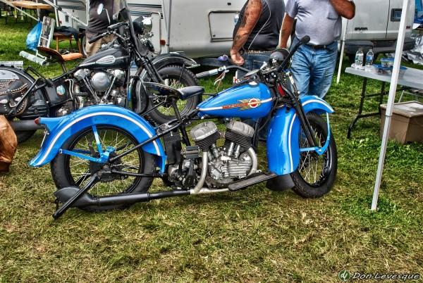 '39 Harley Davidson - hdr