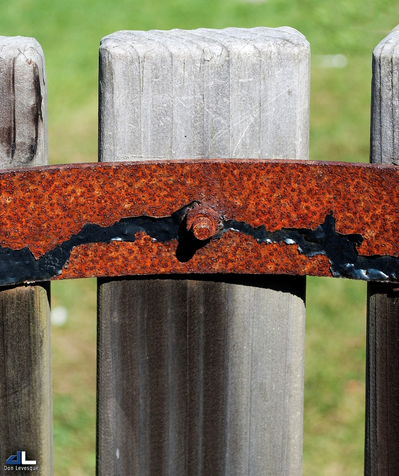 Wood meets iron
