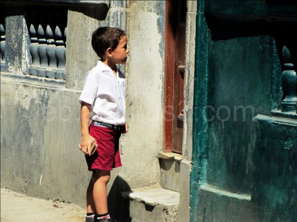 Little cuban boy - Cuba