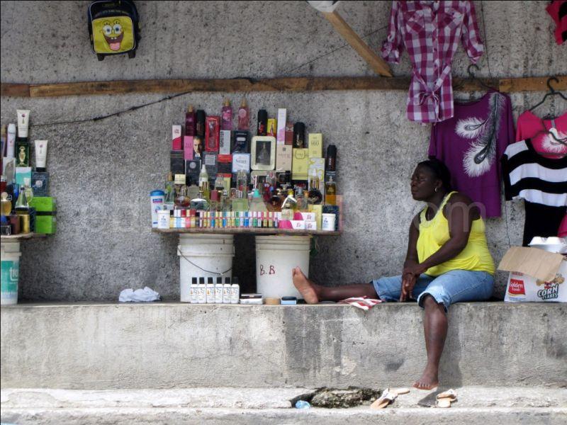 En attendant les clients - Haïti