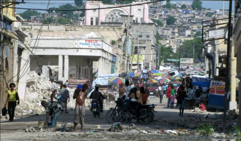 Le bain - Haïti