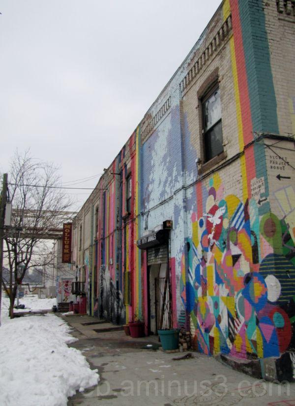 Fresque murale - NY