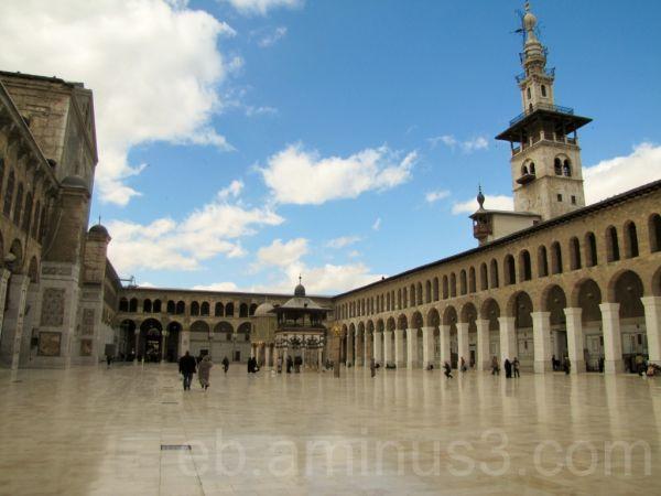 Mosquée des Ommeyyades  2 - Damas