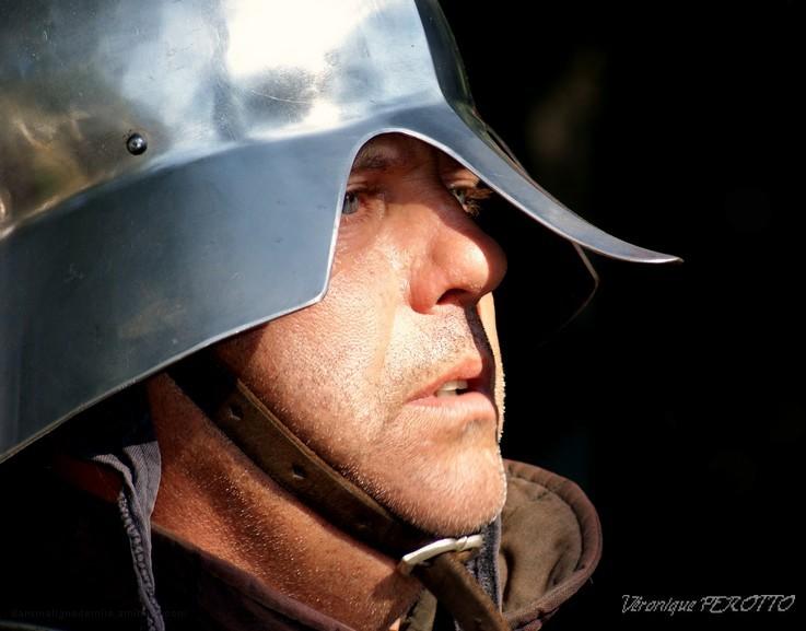 Dans l'oeil (bleu) du guerrier ...