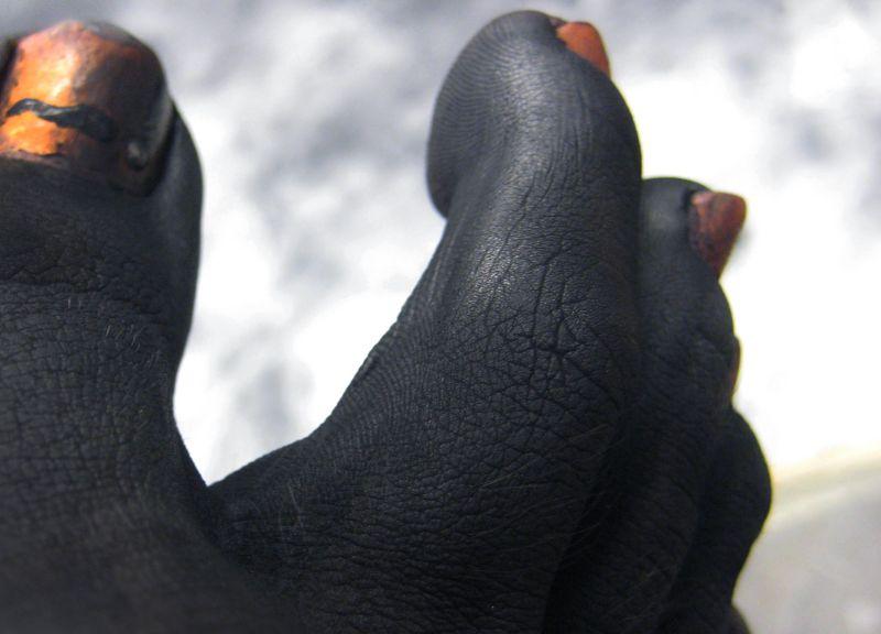 Graphite Feet