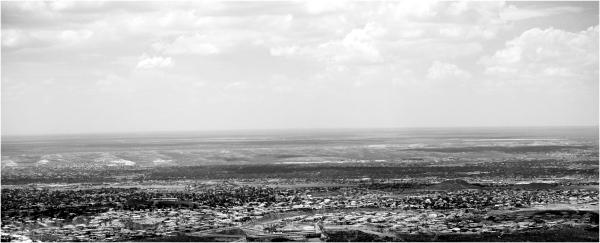 Overlooking El Paso,  Tx