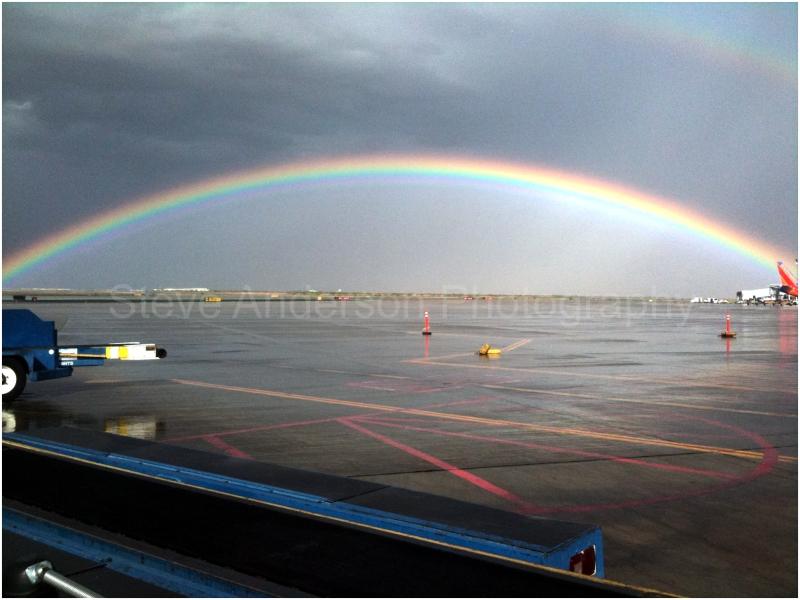 Rainbow Over El Paso