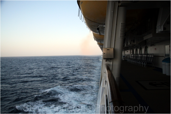 On the High Seas of the Pacific.
