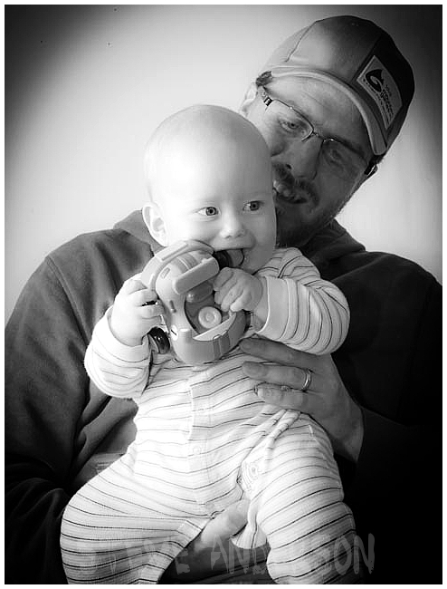 Dad and his Baby
