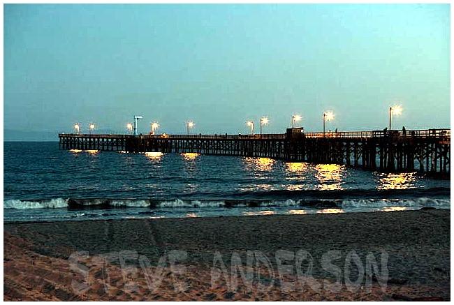 Goleta Pier at Night