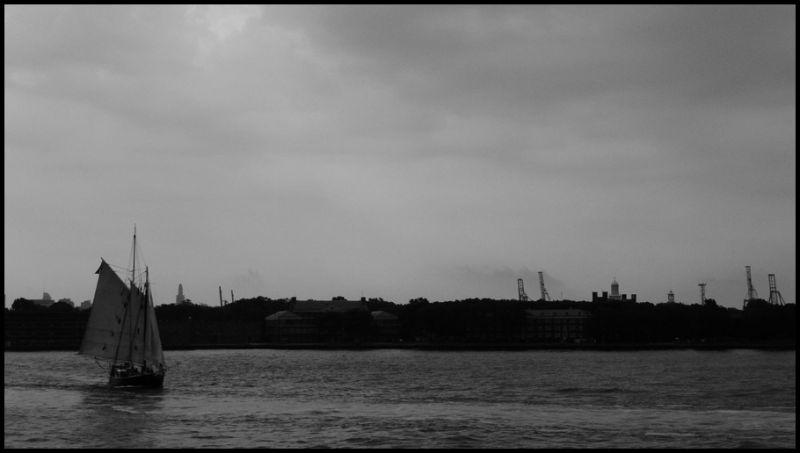 Sail bout in Manhattan