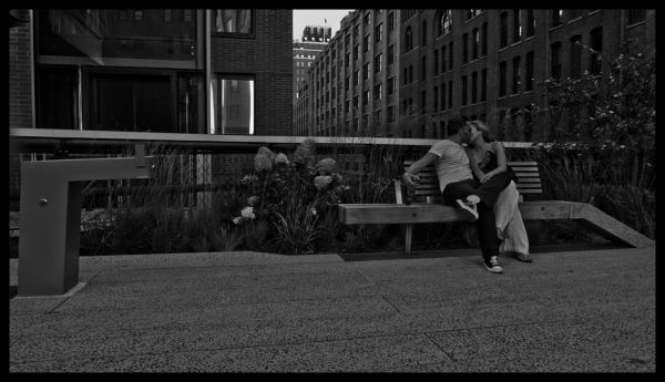 Love, Bench, City, Boardwalk