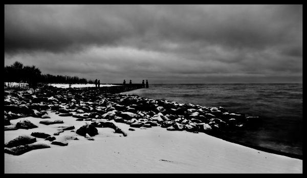 End, World, Dark, Beauty, People, Beach, Snow, sun