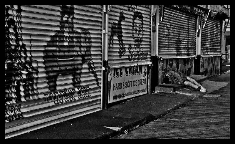 Economy, America, Coney Island, Queens, Life, Poor