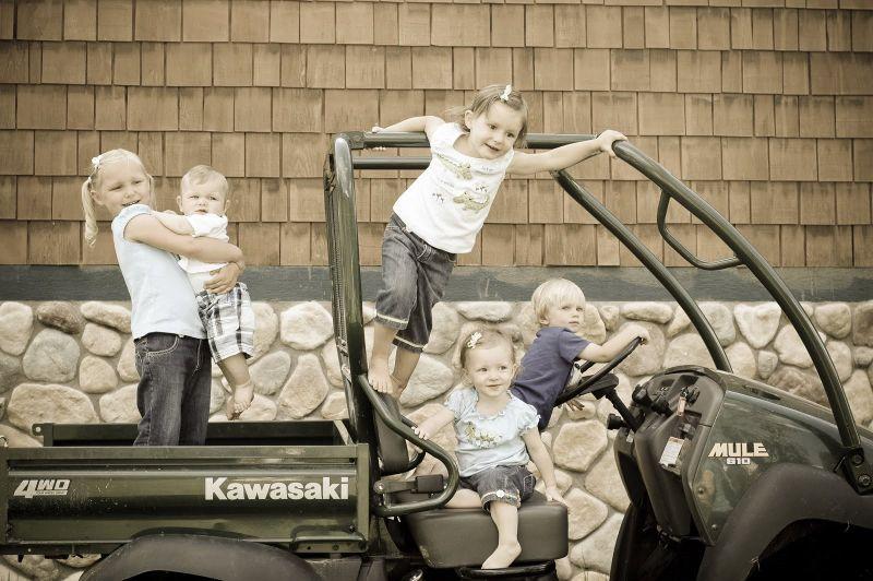 Kids in Mule