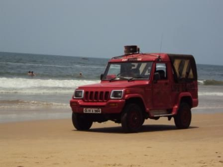 Lifeguard Patrol@ Baga beach