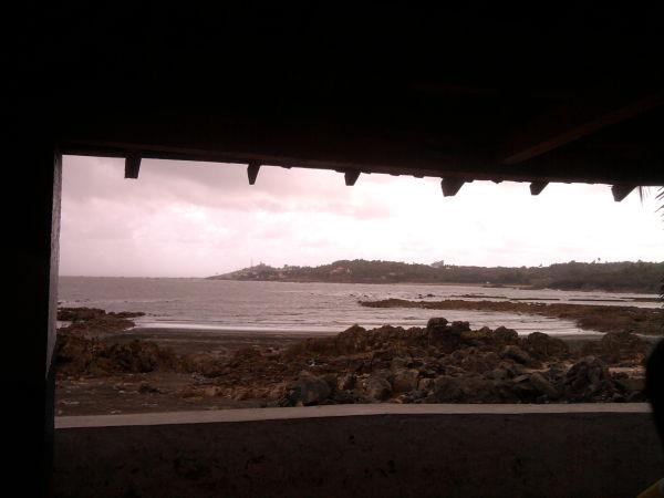 Gorai Beach in Monsoon