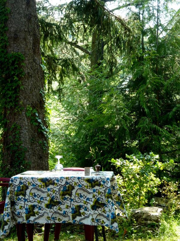Dejeuner sous les arbres