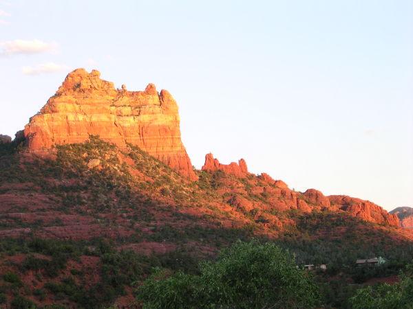 The red rocks of Sedona, AZ.