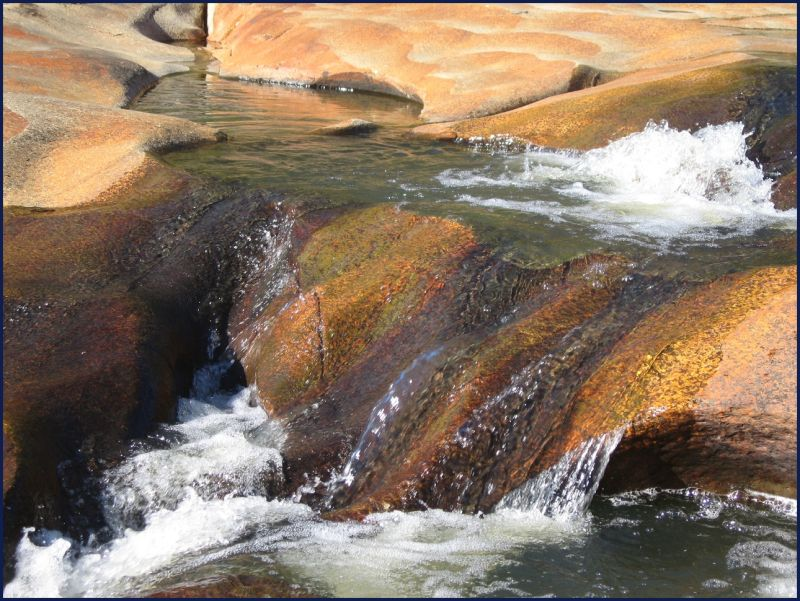Beechworth Victoria river rocks