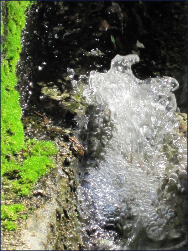 Ravello Italy running water