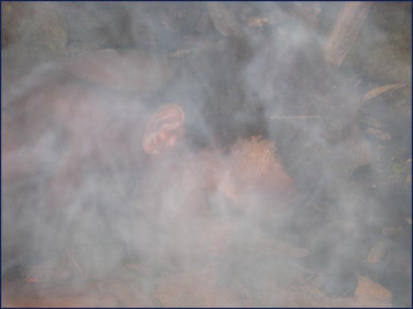 man making fire Wala Vanuatu