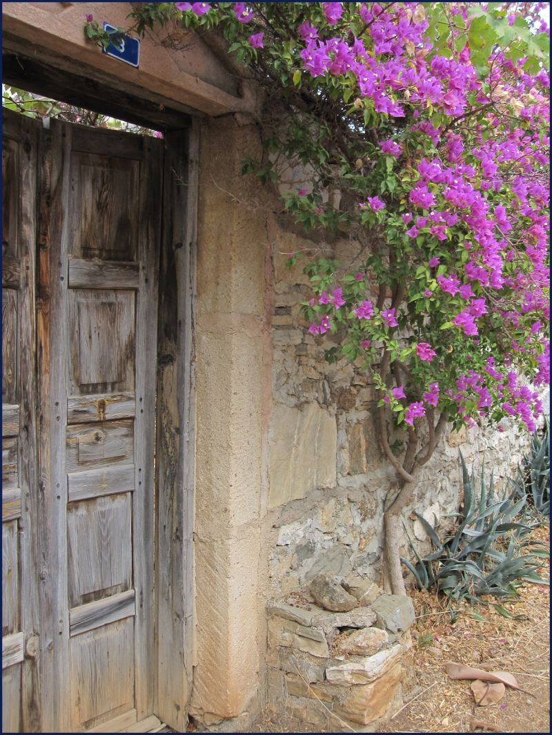 Door entrance to property- Old Datcha Town Turkey