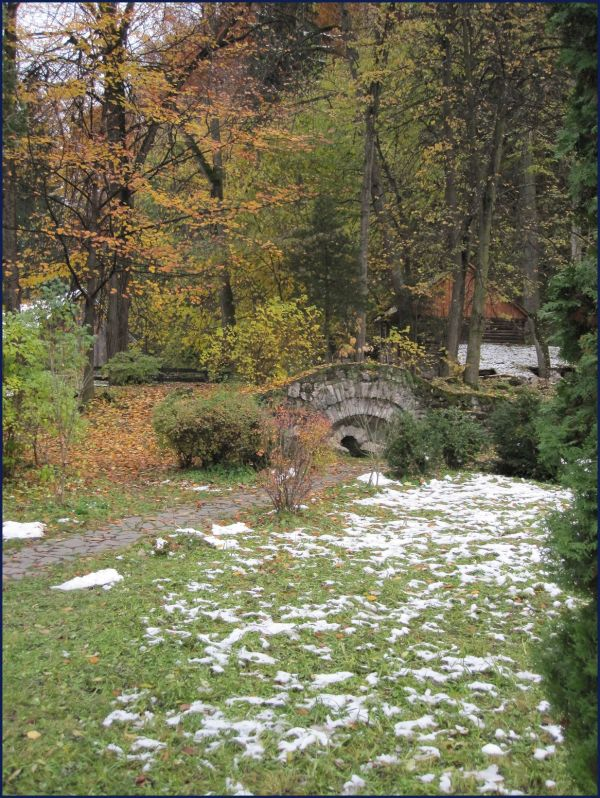 Count Vlad The Impailer's Castle garden Romania