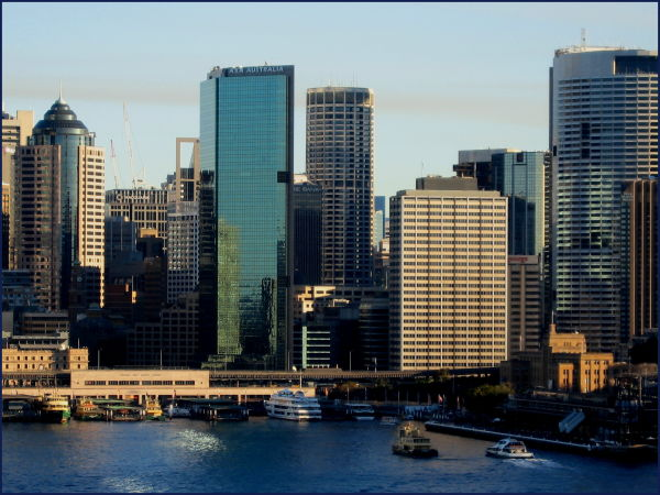 Sydney and harbour