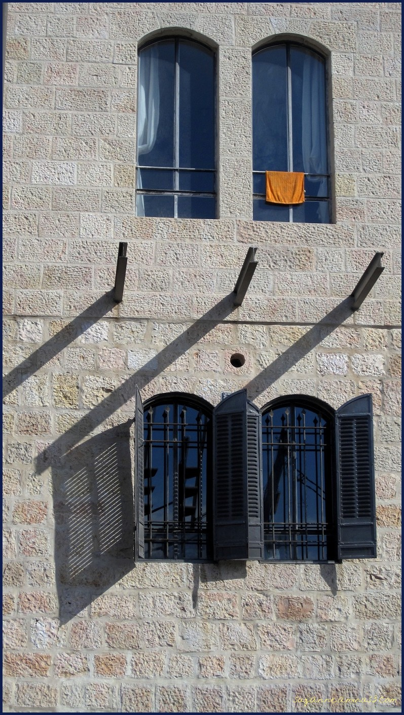 windows in Jerusalem