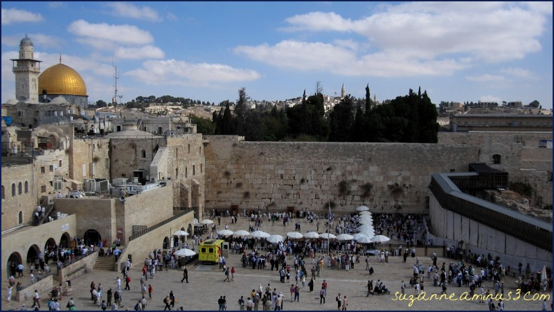 Western Wall and Mosques - Jerusalem