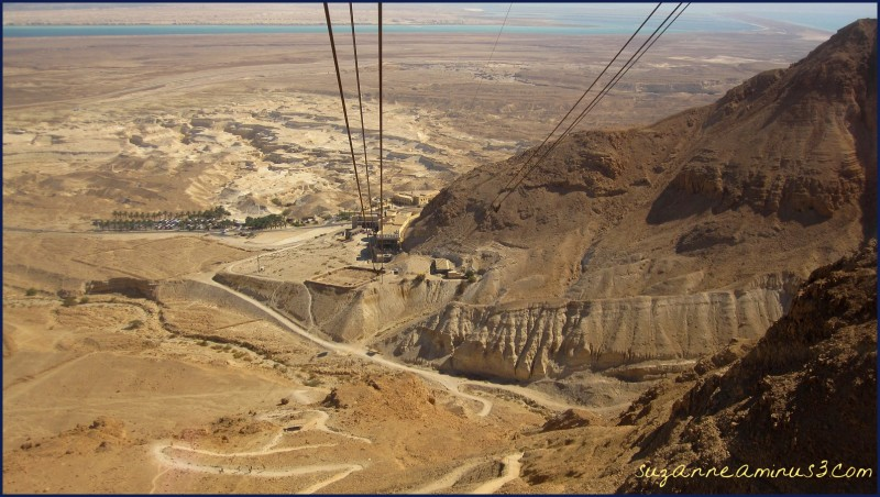 Masada Israel cable car return journey