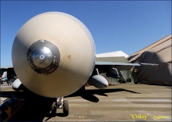 nose of an aircraft