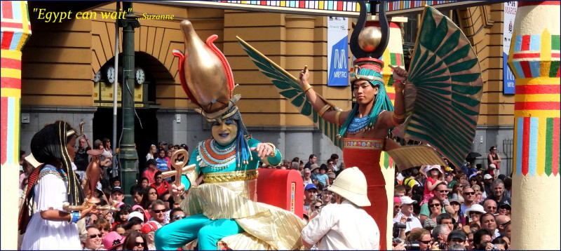 Moomba Parade float