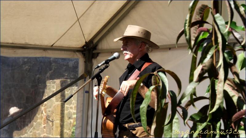 man, singing, gesturing