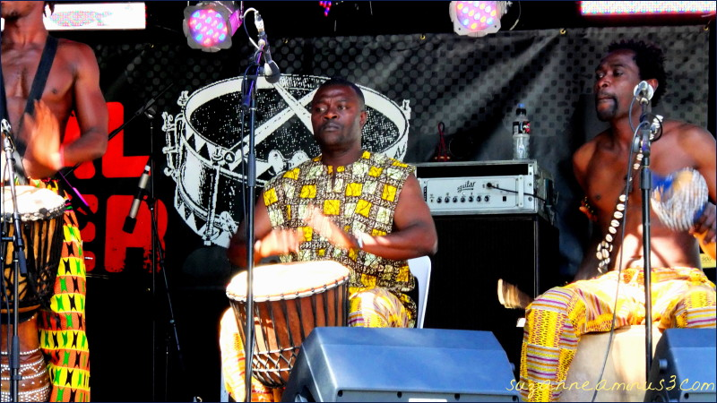 African Royal drummers