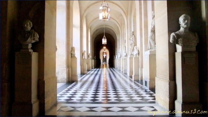 an image of a hallway at Versailles Paris France