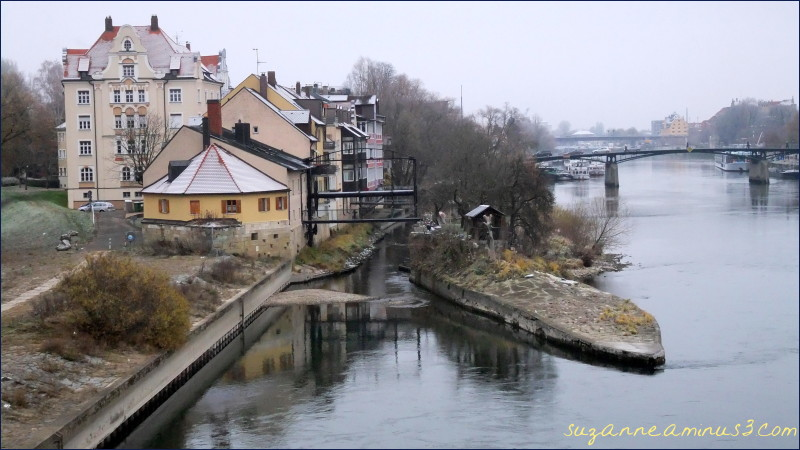 nuremberg, river, bridge, buildings