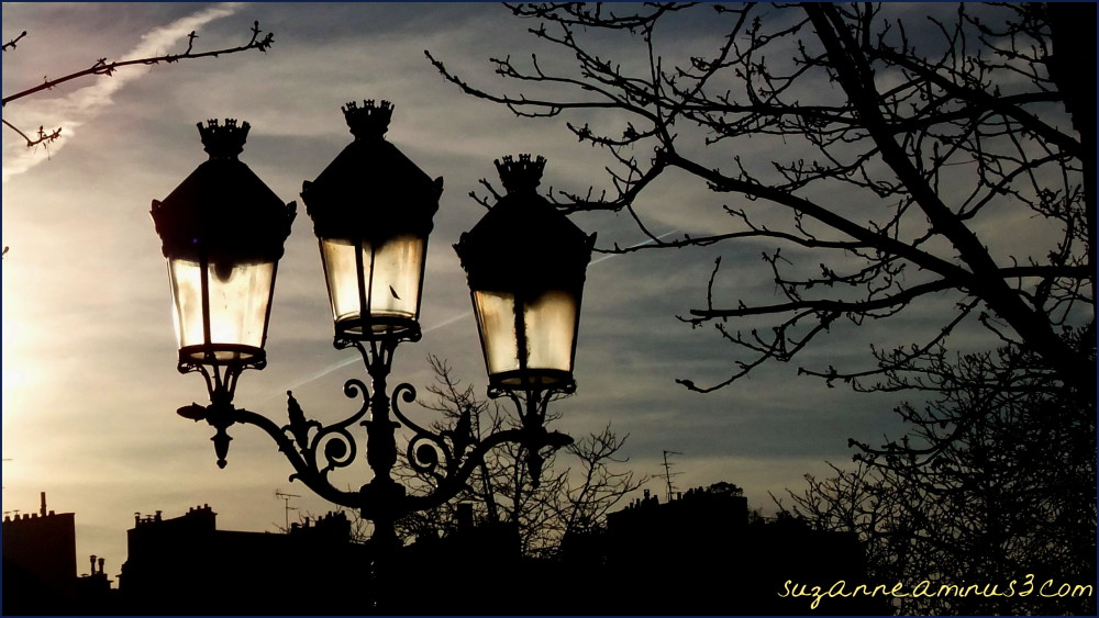 image, street, lamps, monochrome, paris,france